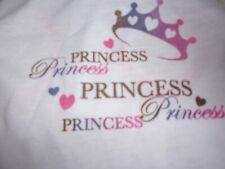 PRINCESS Tank Shirt Dog new pet S M Top Paw puppy Small Medium