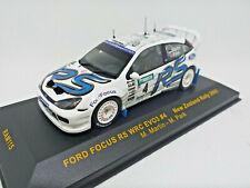 IXO 1:43 - RAM115 FORD FOCUS RS WRC EVO 3 #4 N.Zeland Rally 2003 M.Martin M.Park