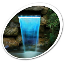 """Tetra 26596 Waterfall Filter 12"""" With LED Colorchanging Light With Remote 19765"""