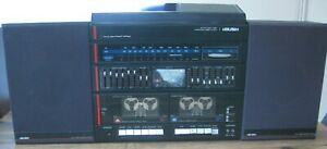 Vintage BUSH 9530 Hi-Fi System Twin Deck Record Turntable/Cassette Deck/Tuner