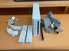 Nintendo Wii Console With 2 Controllers Bundle - Tested & Factory Reset