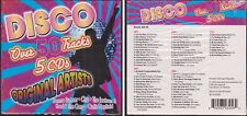 Premium Collection DISCO Over 50 Tracks NEW SEALED 5 CD Original Various Artists