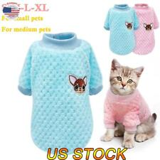 Dog Knitted Sweater Embroidery Chihuahua Clothes Pet Puppy Cat Jumper For Yorkie