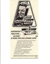 1970 OLDSMOBILE 4-4-2 DRAG RACING / RON GAREY ~ ORIGINAL LAKEWOOD AD