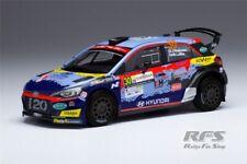 Hyundai i20 R5 Huttunen Rallye Rally Sardegna Sardinien 2020 1:43 IXO RAM 765