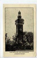 (Gq744-409) The Carillon War Memorial, LOUGHBOROUGH c1940 Unused, VG