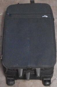 Nice Gently Used Samsonite Mid-Size Rolling Suitcase - Canvas Outer Shell - VGC