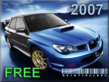 2007 SuBARU IMPREZA STi RS WRX Service Manual CD FREE ! Maintenance