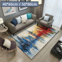 Large Shaggy Area Rug Room Home Bedroom Carpet Rectangle Floor Mat Anti-Skid