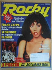 ROCKY 28- 5.7. 1979 Donna Summer Dire Straits-XL Leed Zeppelin Frank Zappa Wayne