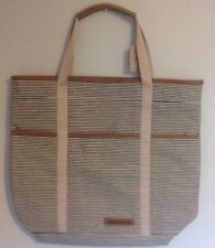 BNWT Accessorize Stripe Shopper Bag