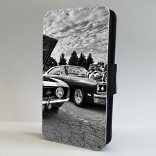 American Muscle Car Old Photo FLIP PHONE CASE COVER for IPHONE SAMSUNG