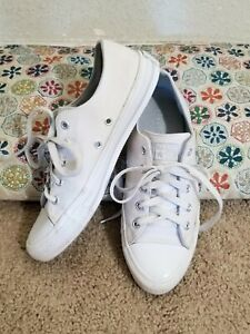 Converse All Star Sneakers,  White,  Women's Size 7