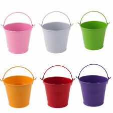 Metal Flower & Plant Buckets Boxes