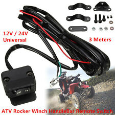 3 Meter Winch Rocker Switch Handlebar Control Line Warn Accessories For ATV/UTV
