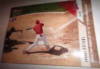 SHOHEI OHTANI, ROOKIE CARD, LOS ANGELES ANGELS, 2018 TOPPS NOW #36