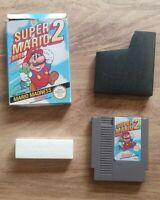 Super Nintendo NES Game Boxed - Super Mario Bros 2 - Complete