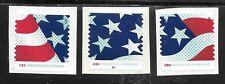 U.S. SC# 4961-63 STARS & STRIPES P#    Used