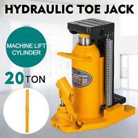 20 Ton Hydraulic Toe Jack Machine Lift Cylinder  Heat-treated Industrial