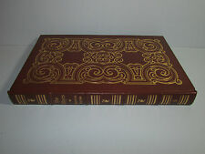 Easton Press Sir Francis Bacon Essays Lord Chancellor Scientific Method Leather