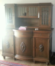 Wohnzimmerschrank, Schrankwand antik, alt, massiv, Echtholz