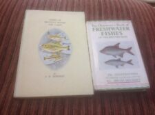 🐟2x1st Ed.Observers/King Penguin Book Of Freshwater Fishes The British Isles 🐟