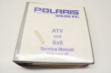 Oem Polaris 9915083 Service Manual Atv Vol. Iii