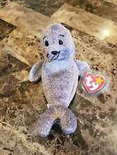 """Ty Beanie Baby """"Slippery� the Seal – Gasport 1998 & 1999 - Retired – Mint:"""