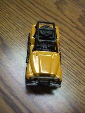 1983 Mattel Matchbox Yellow/Black Jeep 4 x 4 Diecast Mini Truck Toy