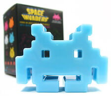 "SPACE INVADERS Mini Series 1 - BLUE 3"" Alien Vinyl Action Figure Toy"