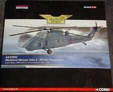 Corgi-Westland Wessex HAS.3 helicóptero-XP142 'Humphrey' rn Antrim'82 -1:72