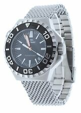 Rotary AGB90045/W/KIT Mens Diver Watch Aquaspeed Black Dial Stainless Steel