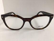 New PRADA VPR 2S1F UA2-1O1 53mm Tort Cats Eye Women Eyeglasses Frame  #8