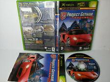 Project Gotham Racing 2 Original XBOX Jeu Street Car Racing, beaucoup de cours
