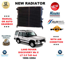 Per Land Rover Discovery MK II LT 2.5 Td5 4x4 1999 - > 2004 NUOVO RADIATORE OE Quality