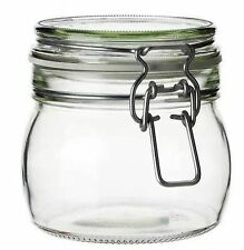 Unbranded Glass Kitchen Canisters & Jars