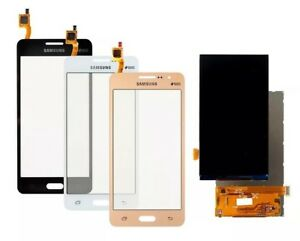 """Samsung J2 PRIME G532F LCD Complete Replacement 5.0"""" LCD Touch Screen-White"""