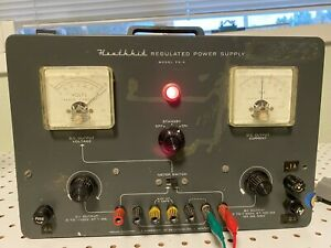 Heathkit Model PS-4 High Voltage Regulated Power Supply Tested & Works