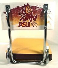 ASU STADIUM SEAT Arizona State University Sun Devils PADDED FOLDING CHAIR