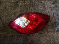 VAUXHALL CORSA D 5 DOOR 2006-2011 DRIVERS SIDE REAR TAIL LIGHT REAR LAMP O/S/R