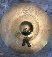 "Zildjian K Custom 21"" Hybrid Ride Cymbal pélvico Drums, batería"