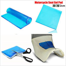 25*25*2cm DIY Modified Motorcycles Seat Gel Pad Polyurethane Elastic Cover Blue