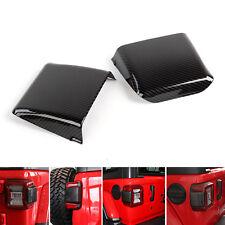 2x Taillight Cover Pad Sticker Exterior Accessories For Jeep Wrangler JL 2018+ E