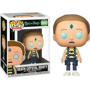 Rick and Morty - Death Crystal Morty Funko Pop! Collectible Vinyl Figure