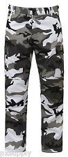 City Camouflage Military BDU Cargo Bottoms Fatigue Trouser Camo Pants 7881