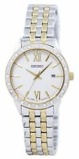 Seiko Quartz Diamond Accent SUR690 SUR690P1 SUR690P Womens Watch