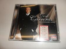 CD  Jose Carreras - What a wonderful world