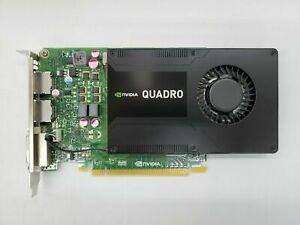 nVIDIA Quadro K2200 DVI 2x DP PCI-E x16 Graphic Card