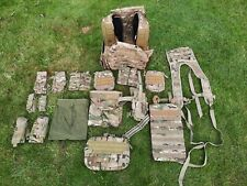 More details for airsoft vest and selection of pouches, multicam