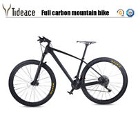T800 Carbon Fiber Complete Mountain Bike XT Groupset Carbon AERO MTB Bike 11/22S